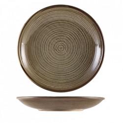 Farfurie adanca Terra Porcelain Grey 28cm DC-PG28