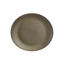 Farfurie ovala Terra Stoneware Antigo 25x22cm PL-AN25