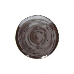 Farfurie plata Organica Material Bronze 24cm OC000245577