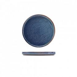 Farfurie prezentare low Terra Porcelain Aqua Blue 18cm LP-PBL18