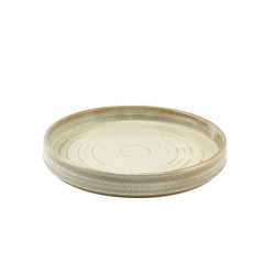 Farfurie prezentare Terra Porcelain Matt Grey 21cm PR-PMG21