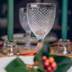 Pahar vin/apa transparent Bicos 280ml 49000000