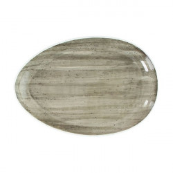 Platou oval B-Rush Grey 31cm BI020313264