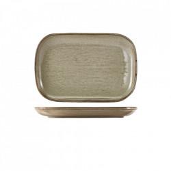 Platou Terra Porcelain Grey 24 x 16.5cm RP-PG24