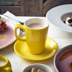 Cana mug Genware Porcelain 34cl Yellow 322135Y