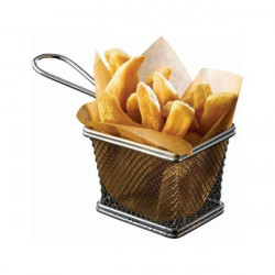 Cos cartofi prajiti inox 10x8x7.5cm SVB1008