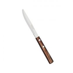 Cutit steak S rotund Tramontina brown set 12 buc 21101494