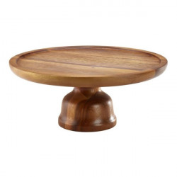 Etajera lemn acacia 33 cm WCS12