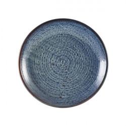 Farfurie adanca Terra Porcelain Aqua Blue21cm DC-PBL21