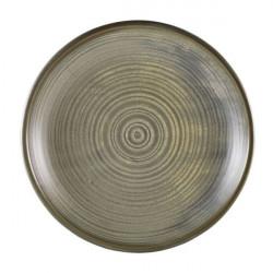 Farfurie adanca Terra Porcelain Matt Grey 28cm DC-PMG28