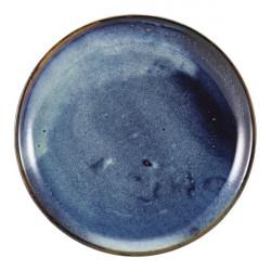Farfurie coupe Terra Porcelain Aqua Bue 30.5cm CP-PBL30
