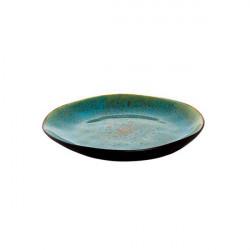 Farfurie desert Turquoise Lotus 21 cm 531015