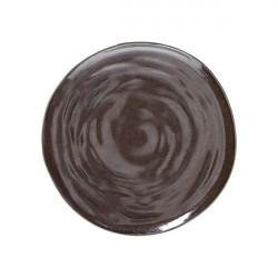 Farfurie plata Organica Material Bronze 28cm OC000285577