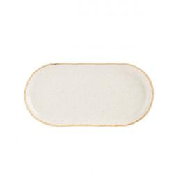 Platou oval rotunjit Oatmeal 32 X20 CM 118132OA