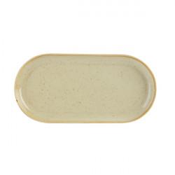 Platou oval rotunjit Wheat 32x20 cm 118132WH