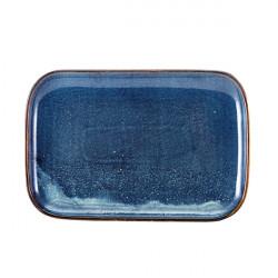 Platou Terra Aqua Blue 34.5 x 23.5cm RP-PBL34
