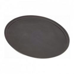 Tava ovala bar neagra 69x57cm GG2700BLK