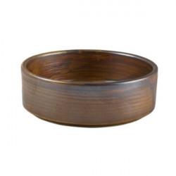 Bol prezentare Terra Porcelain Rustic Copper 13cm PB-PRC13