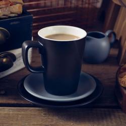 Cana mug Genware Porcelain 34cl Matt Black 322135MBK