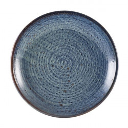Farfurie adanca Terra Porcelain Aqua Blue 28cm DC-PBL28