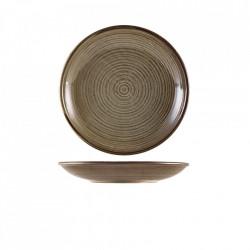 Farfurie adanca Terra Porcelain Grey Plate 21cm DC-PG21