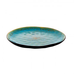 Farfurie plata Turquoise Lotus 28 cm 531016