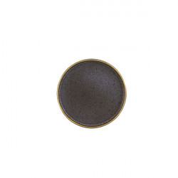 Farfurie suport 18cm Bronze Gold Stone 37004087