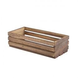 Ladita lemn rustic 25x12 cm TR216
