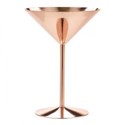 Pahar copper martini MRC240