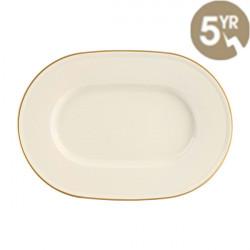 Platou oval Line Gold Band 31cm 115831GB
