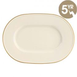 Platou oval Line Gold Band 34cm 115834GB