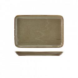 Platou servire Terra Porcelain Grey 30 x 20cm NR-PG32