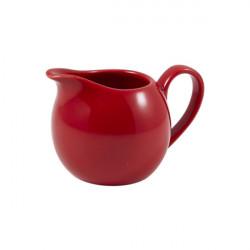 Recipient lapte Genware Porcelain 14cl Red 373114R