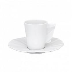 Set ceasca espresso cu farfurie Matrix Glazed 80ml 21117386