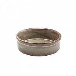 Terra Porcelain Grey Tapas Dish 10cm TD-PG10