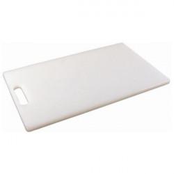 Tocator bar alb Low Density 25x15cm 156