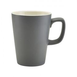 Cana mug Genware Porcelain 34cl Matt Grey 322135MG