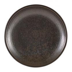 Farfurie adanca Terra Porcelain Black 28cm DC-PBK28