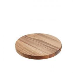 Platou lemn rotund 28 Øx2 cm S5055