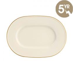 Platou oval Line Gold Band 25cm 115825GB