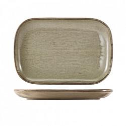 Platou Terra Porcelain Grey 34.5 x 23.5cm RP-PG34