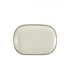 Platou Terra Stoneware Sereno Grey 24 x 16.5cm RP-SG24