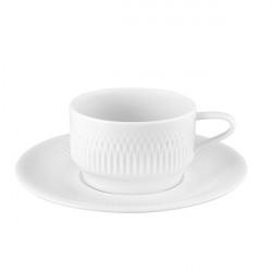 Set ceasca si farfurie cafea Utopia 22cl 21131019