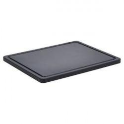 Tocator inaderent bar negru 32x26x1.4cm BB3226BK