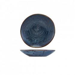 Bol paste Terra Porcelain Aqua Blue Organic 21cm CB-PBLG21