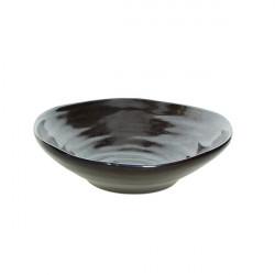 Bol salata mare Organica Bronze Material 24,5XH7 cm OC001255577