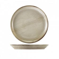 Farfurie coupe Terra Porcelain Grey 27.5cm CP-PG27