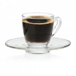 Farfurie espresso sticla Ultimo 11cm G1P01672