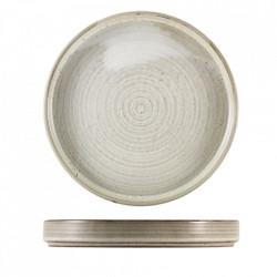 Farfurie prezentare Terra Porcelain Grey 26cm PR-PG26