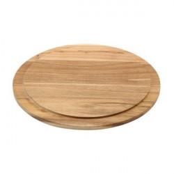 Platou lemn acacia rotund 33cm WSB33